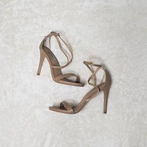 5/$20 Steve Madden Nude Strap Heel Sandals
